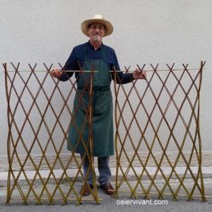 Panneau pré-tressé prêt à planter. 60 ou 80 cm de long
